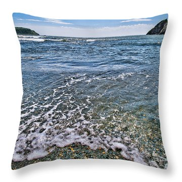 Surf #2959 Throw Pillow by Andrey  Godyaykin