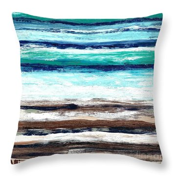 Surf And Turf Throw Pillow