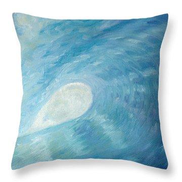 Surf Dreams Throw Pillow