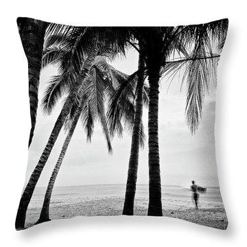Surf Mates 2 Throw Pillow