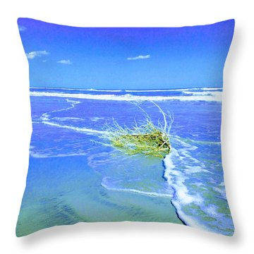 Surf Snuggle Throw Pillow