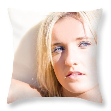 Surf Vision Throw Pillow