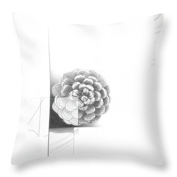 Surface No. 1 Throw Pillow