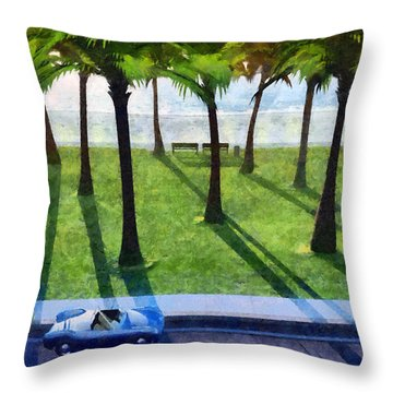 Surfside Painted Throw Pillow