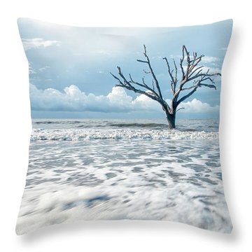 Surfside Tree Throw Pillow