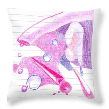 Surgeries 2008 - Abstract Throw Pillow