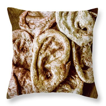Surgical Nightmares Throw Pillow