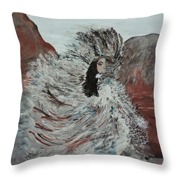 Suri Dancer Throw Pillow