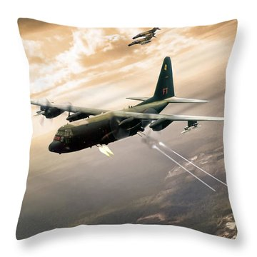 Surprise Package Throw Pillow by Peter Chilelli