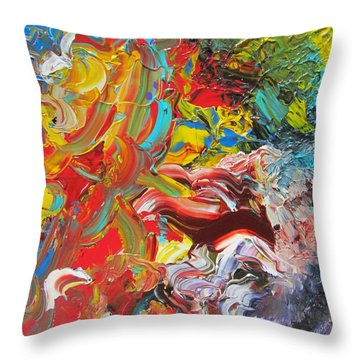 Surprise Throw Pillow by Ralph White