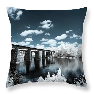 Surreal Crossing Throw Pillow