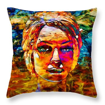 Throw Pillow featuring the photograph Surreal Dream - Chuck Staley by Chuck Staley