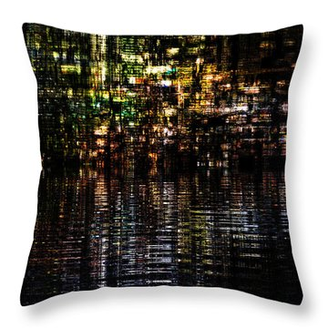 Surreal Evening Throw Pillow