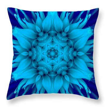 Surreal Flower No. 5 Throw Pillow