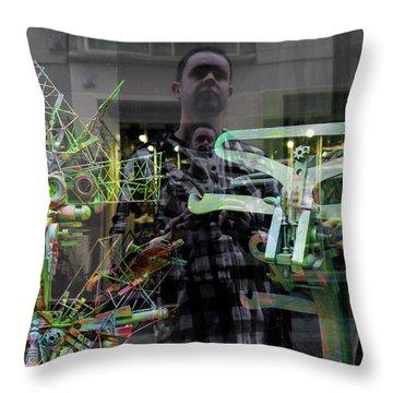 Surreal Introspection Throw Pillow