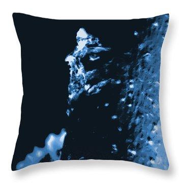 Surreal Moringa Tree Throw Pillow by Gina O'Brien