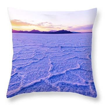 Surreal Salt Throw Pillow