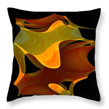 Surreal Shape Throw Pillow