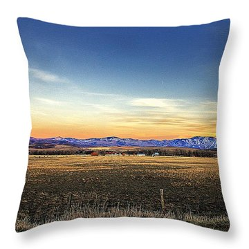Surreal Steamboat  Throw Pillow by Matt Helm