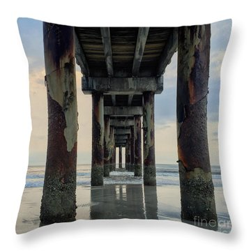 Surreal Sunday Sunrise Throw Pillow by LeeAnn Kendall