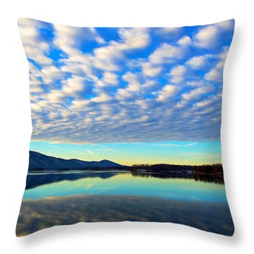 Surreal Sunrise Throw Pillow