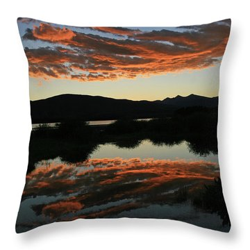 Surreal Sunrise Throw Pillow