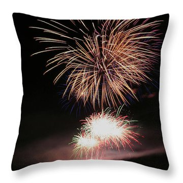 Surrealistic Hillside Throw Pillow by David Patterson