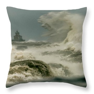 Throw Pillow featuring the photograph Surrender by Everet Regal