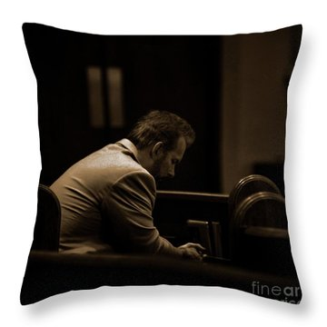 Surrender - Sqaure Throw Pillow