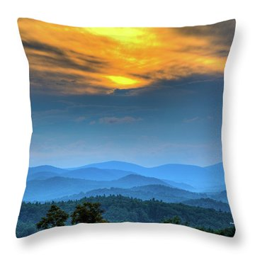 Surrender The Day Throw Pillow by Dale R Carlson