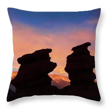 Surrender To The Infinite, Unbounded, Pure Consciousness  Throw Pillow