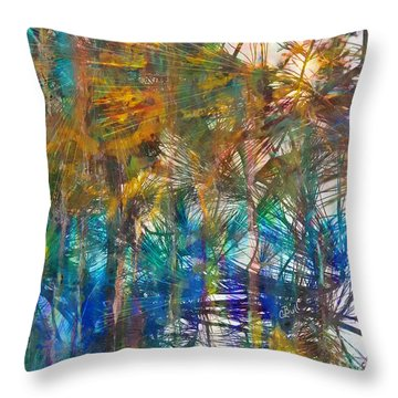 Throw Pillow featuring the photograph Surrender To The Light by Claire Bull