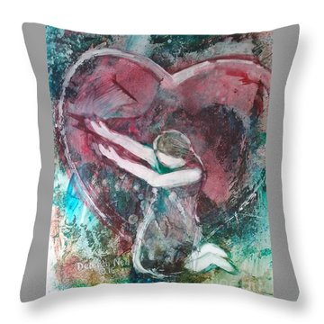 Surrendered Throw Pillow