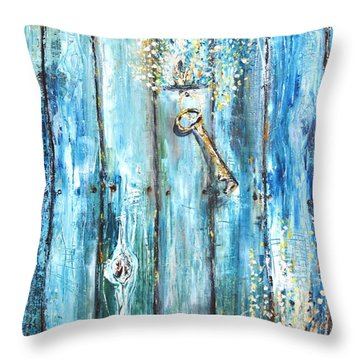 Surviving Time Throw Pillow by Evelina Popilian