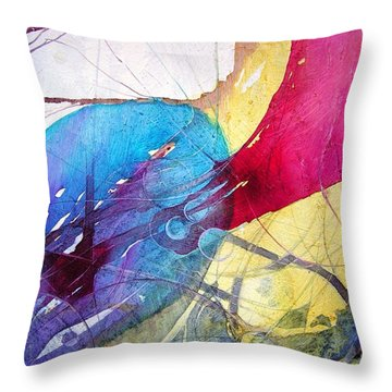 Sushi On Pluto Throw Pillow
