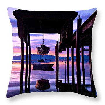 Throw Pillow featuring the photograph Suspended Animation by Sean Sarsfield