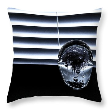 Throw Pillow featuring the photograph Suspended by Eric Christopher Jackson