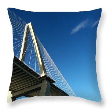 Suspended In The Sky Throw Pillow