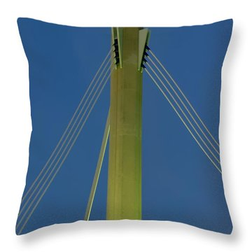 Suspension Pole Throw Pillow