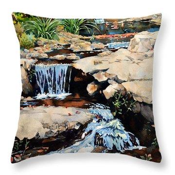Susquehanna Falls Throw Pillow