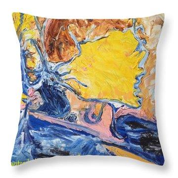 Sussex Waterways  Throw Pillow