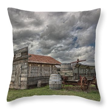 The Sutler's Store Throw Pillow