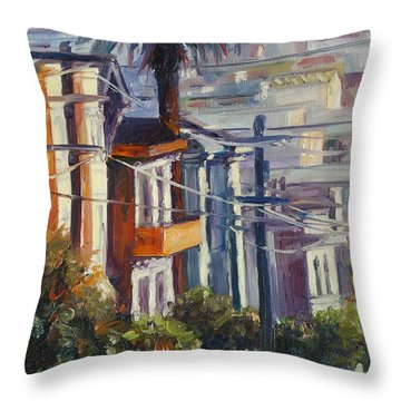 Post Street Throw Pillow