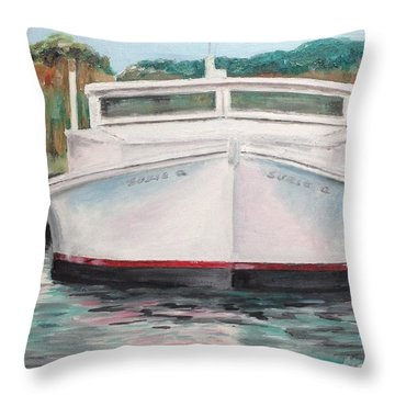 Suzie Q Throw Pillow