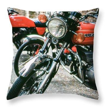 Throw Pillow featuring the photograph Suzuki by Samuel M Purvis III