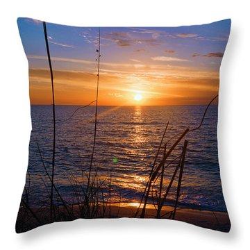 Sw Florida Sunset Throw Pillow