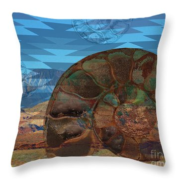 Sw Fossil Float Throw Pillow