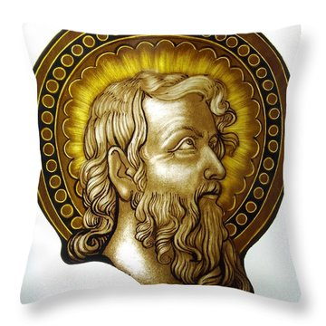 Sw. Jan Chrzciciel Throw Pillow