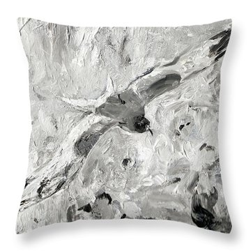 Swallow-tailed Gull Throw Pillow