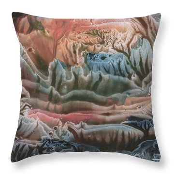 Swamp Throw Pillow